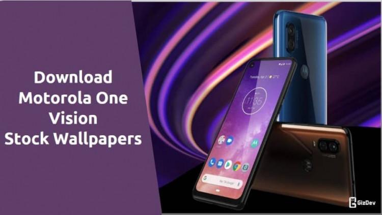 Motorola One Vision Stock Wallpapers