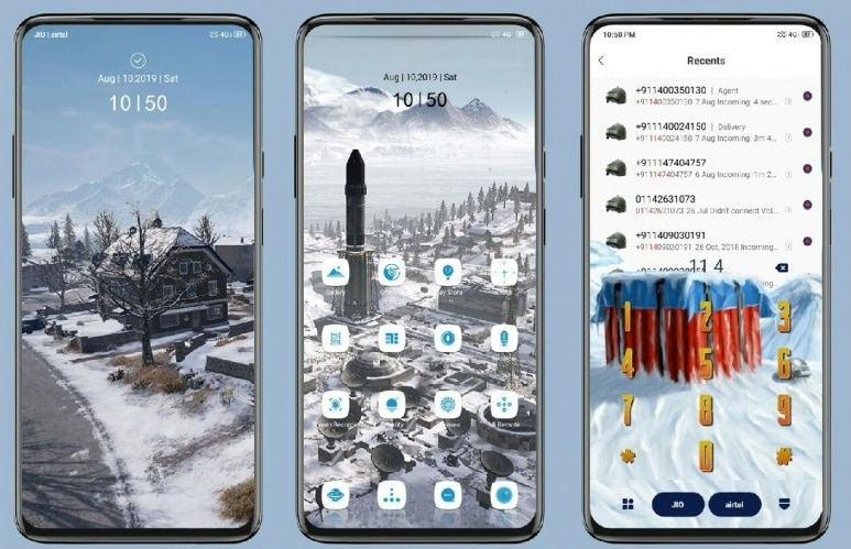 Pubg Vikendi MIUI Theme Screens