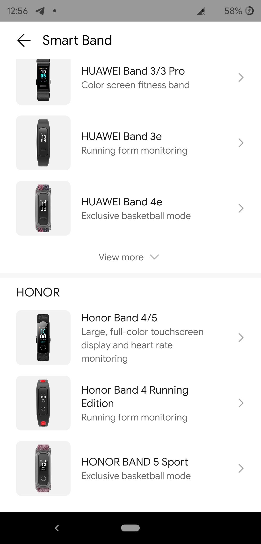 Software Huawei Health Band 5 2