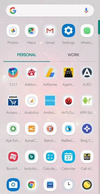 Android 10 Launcher APK 1