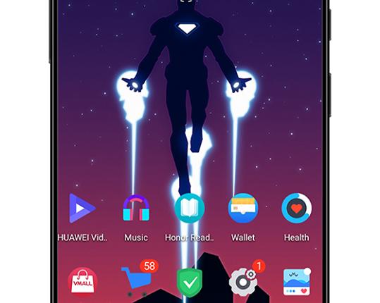 Iron Man EMUI Themes Screens 3 539x430