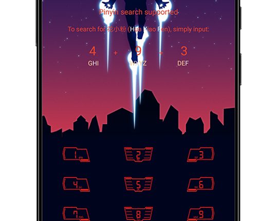 Iron Man EMUI Themes Screens 4 539x430