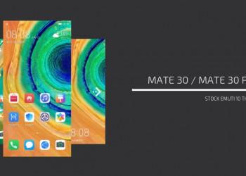 Huawei Mate 30 Pro Stock Themes