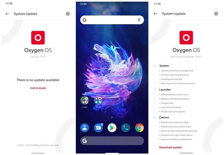 Oxygen OS 10