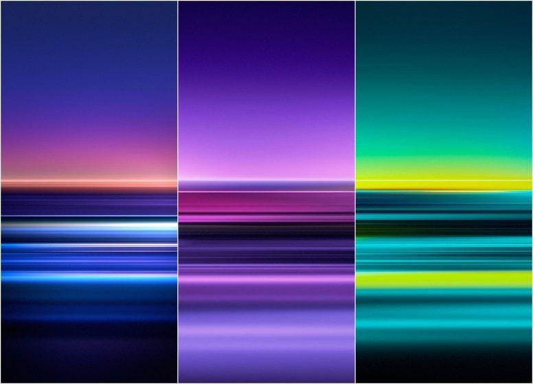 Sony Xperia 5 Stock Walls Screens