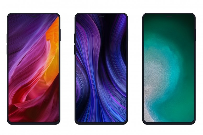 Xiaomi Mi Mix Alpha Stock Walls Screens
