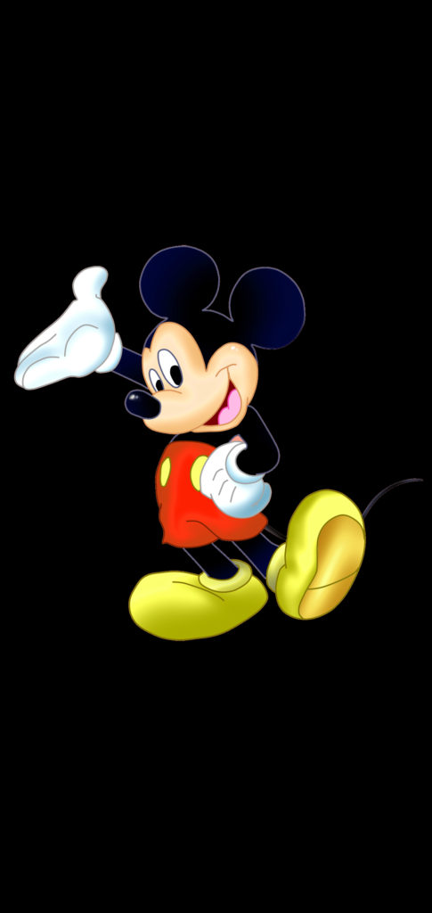 hole punch wall mickey mouse 485x1024
