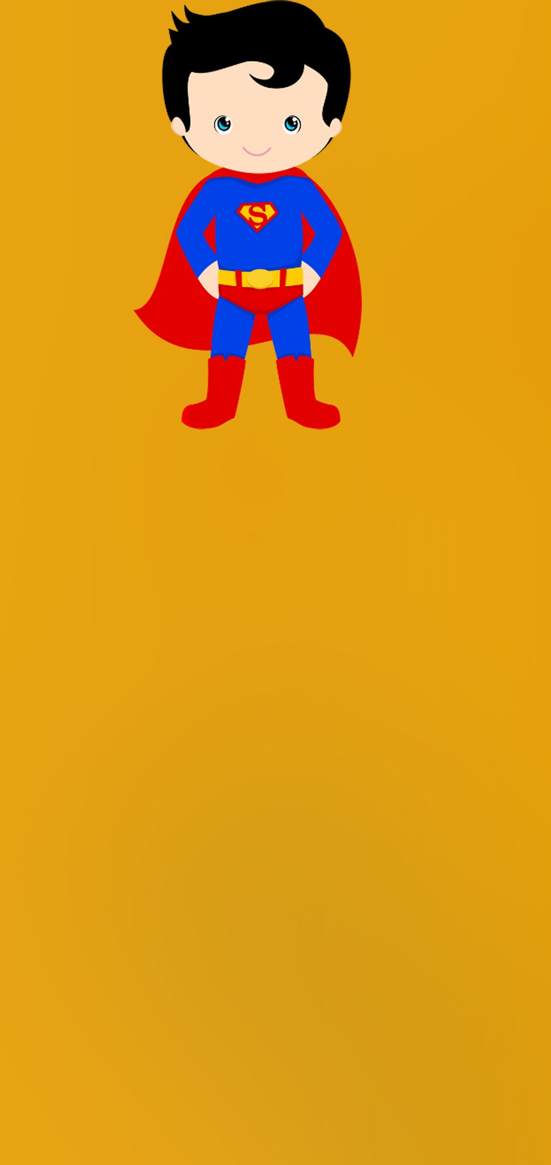 hole punch walls little superman