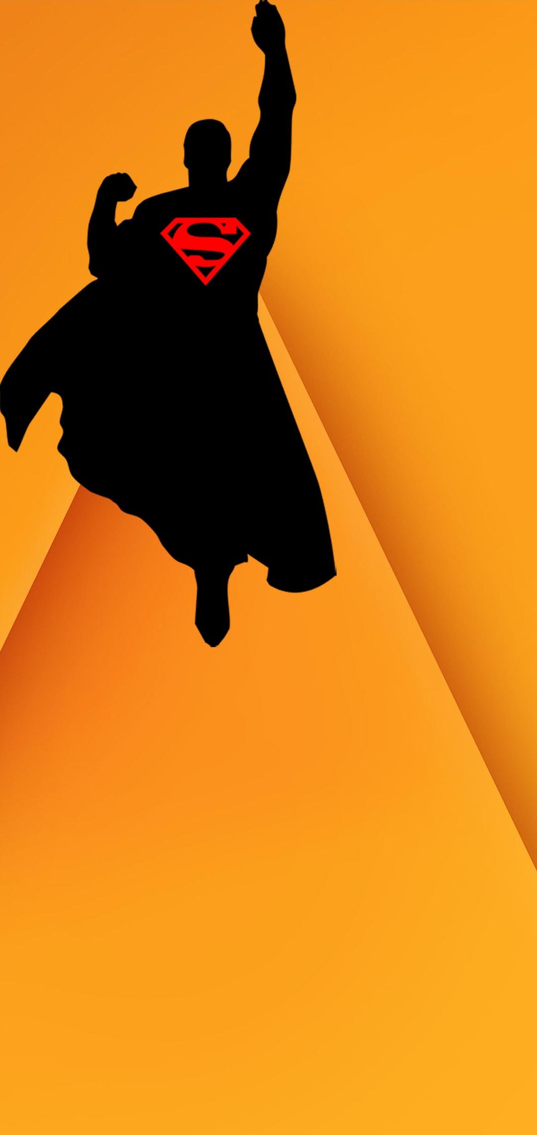 hole punch walls superman black