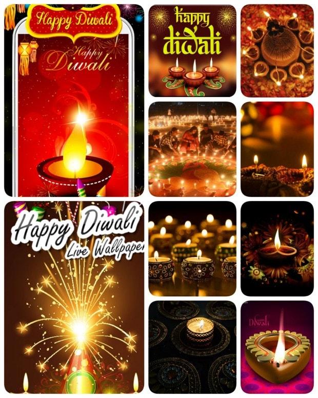 Happy Diwali Wallpapers screens 1