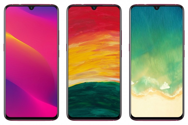 OPPO A9 2020 Stock Walls Screens