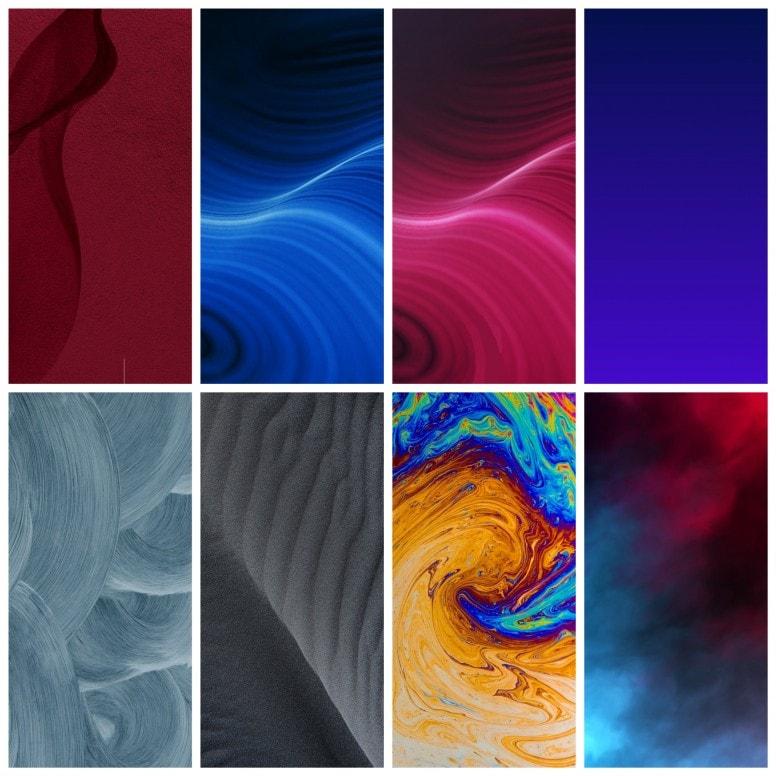 Realme X2 Pro Stock Walls Screens