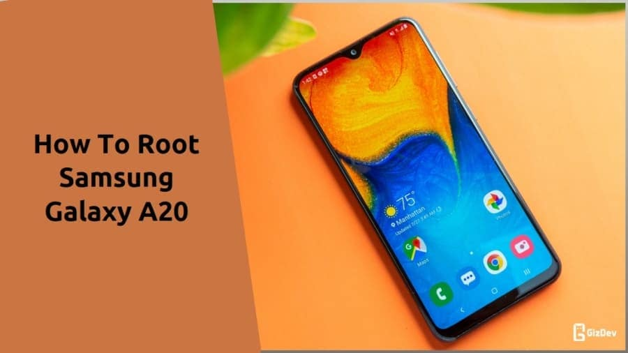 Root Samsung Galaxy A20