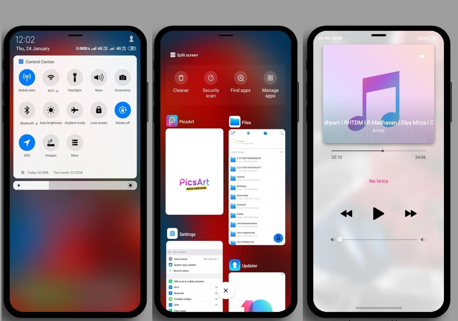 iOS Pro MIUI Theme 2
