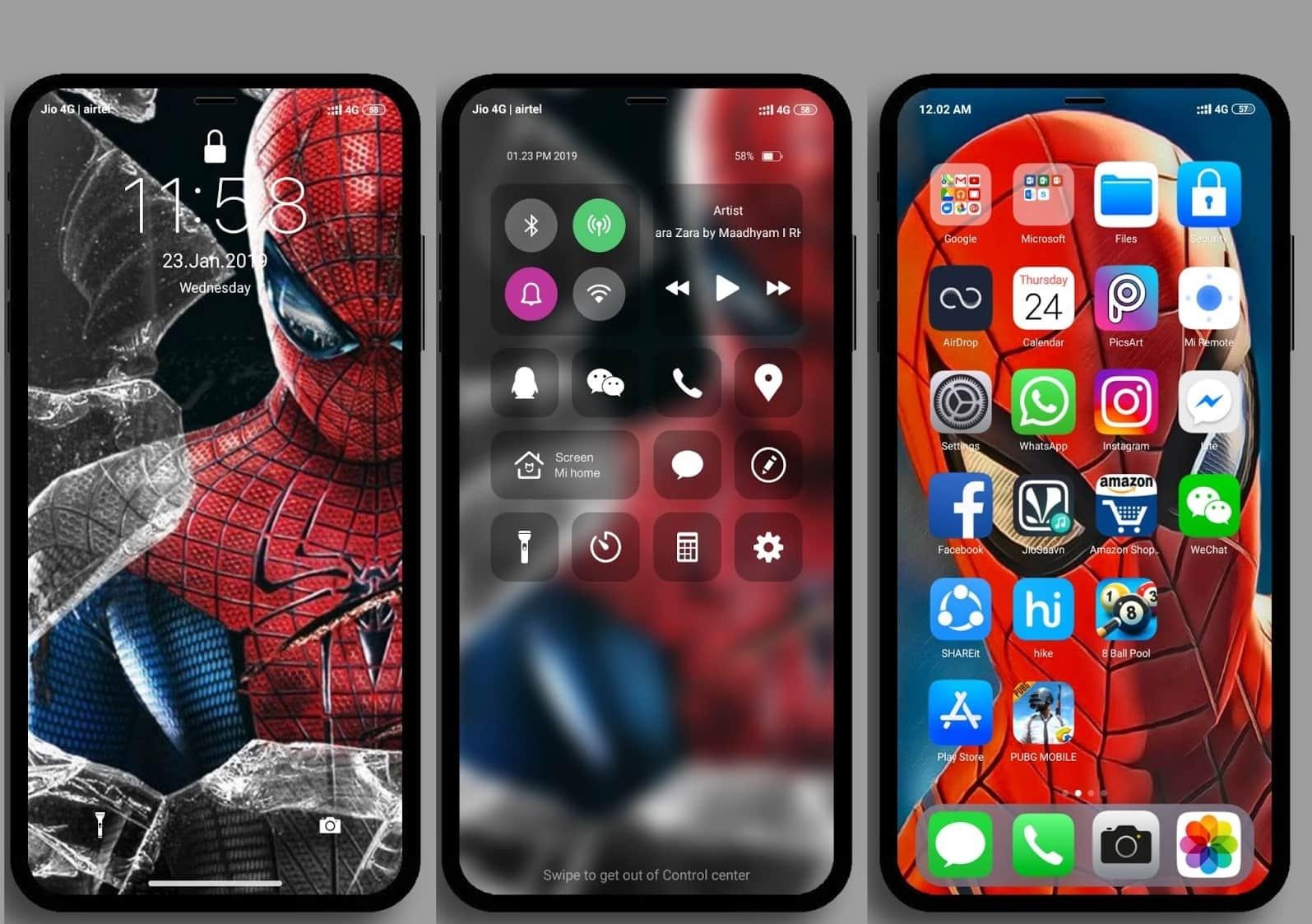 iOS Pro MIUI Theme