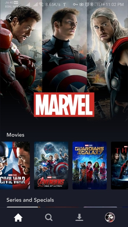 Disney plus android 2