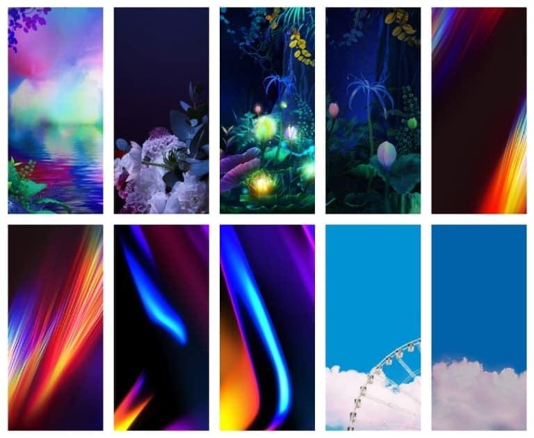 LG G8X ThinQ Wallpapers