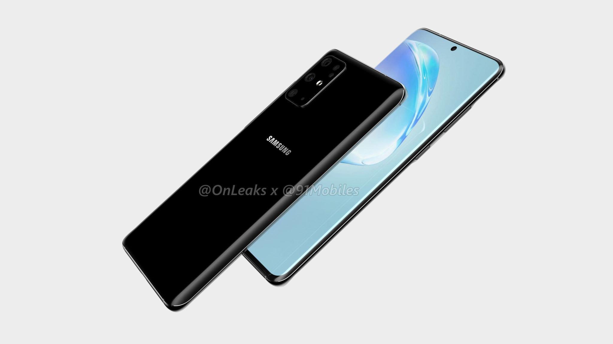 Samsung Galaxy S11 Leaked Renders 2