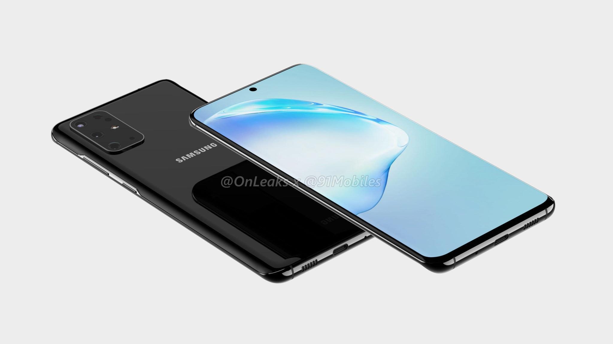Samsung Galaxy S11 Leaked Renders 3