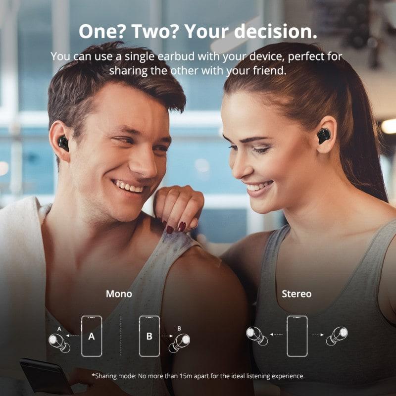 spunky beat true wireless bluetooth earbuds 4