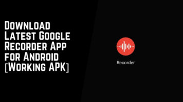 Download Latest Google Recorder App, Google Recorder APK
