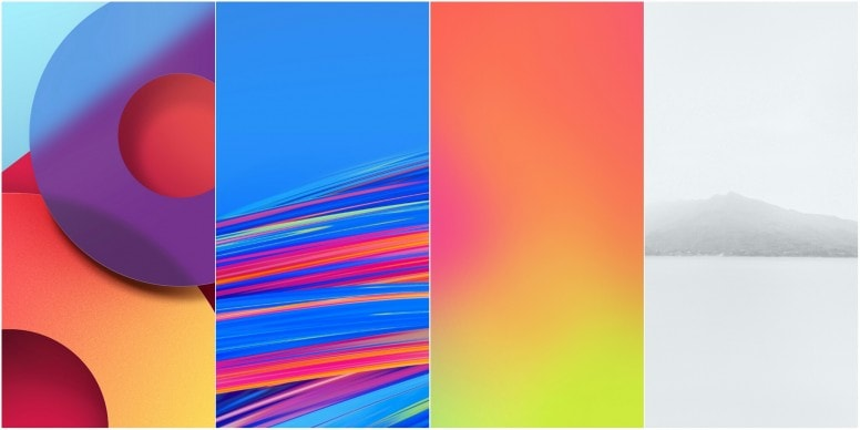 LG Q8 Stock Walls Screens 2