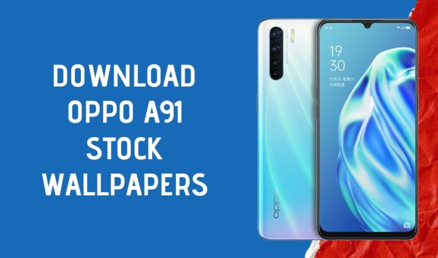 Oppo A8 and Oppo A91 Stock Wallpapers