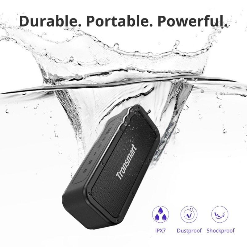 element force waterproof portable bluetooth speaker 2