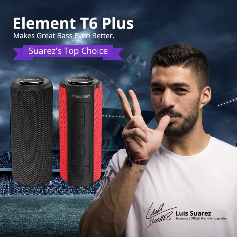 element t6 plus portable bluetooth speaker