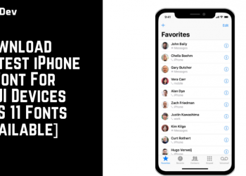Download Latest iPhone X Font For MIUI Devices iOS 11 Fonts Available e1579079054292 350x250