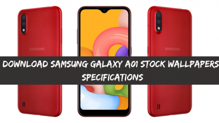 Download Samsung Galaxy A01 Stock Wallpapers, Specifications