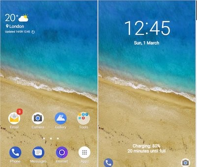 Pixelize Theme Samsung Galaxy