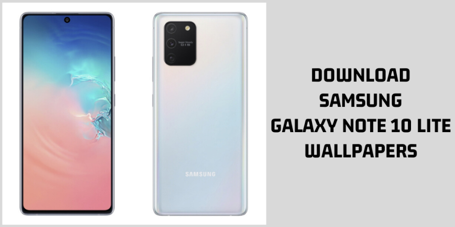 Samsung Galaxy Note 10 Lite Stock Wallpapers