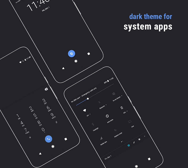 Swift Dark Black theme 1