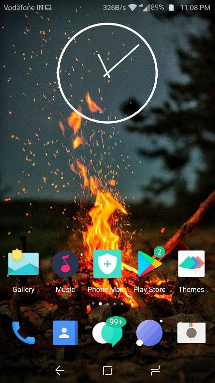 Xperia Clock Widget Apk 2