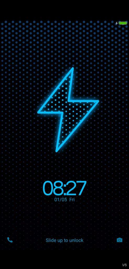 Bluedot NY MIUI Theme Screens 2 492x1024