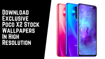 Download Exclusive Poco X2 Stock Wallpapers In High Resolution