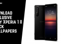 Download Exclusive Sony Xperia 1 II Stock Wallpapers