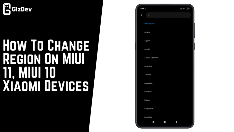 How To Change Region On MIUI 11 MIUI 10 Xiaomi Devices e1581789005946