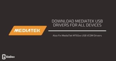 MTK USB Drivers