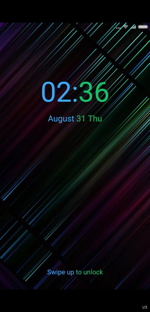 Neon 999 MIUI Theme Screens 2 492x1024