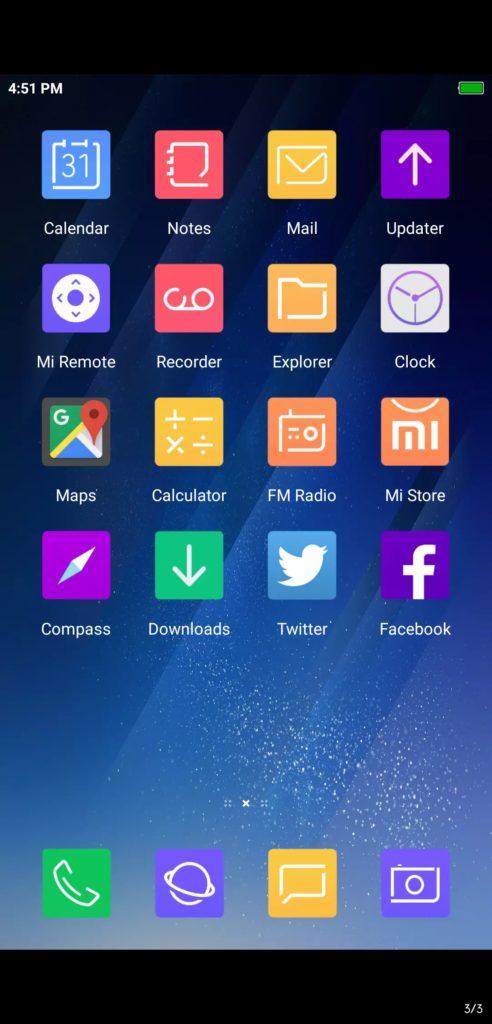 Perfect S8 Light MIUI Themes Screens 1 492x1024