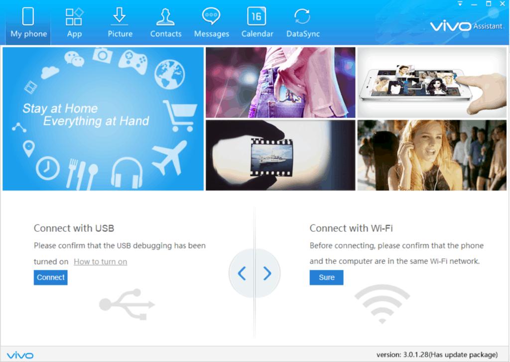 Vivo PC Suite Screenshots 1024x727