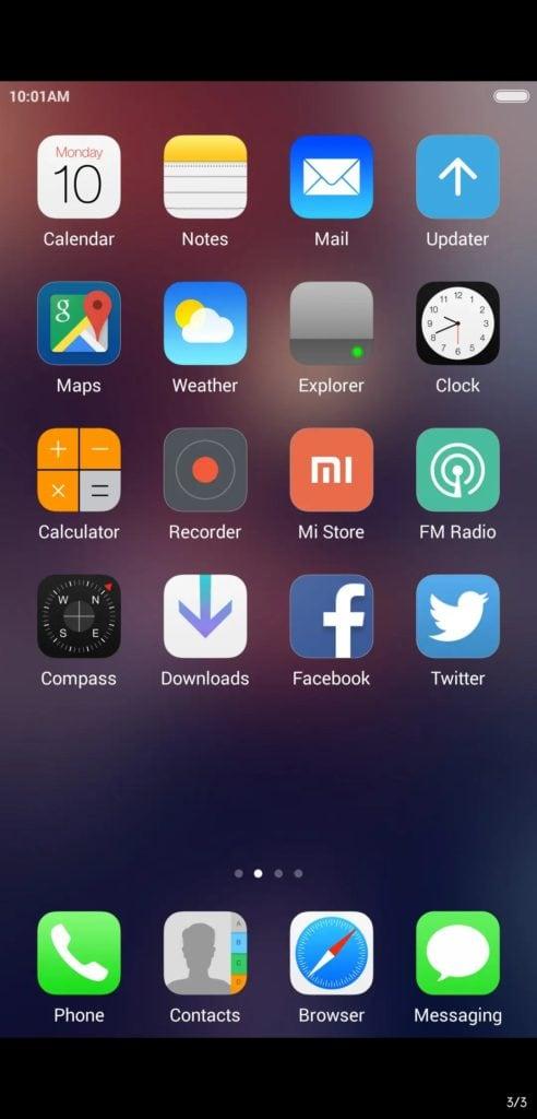 iOS Girl MIUI Theme Screens 1 492x1024