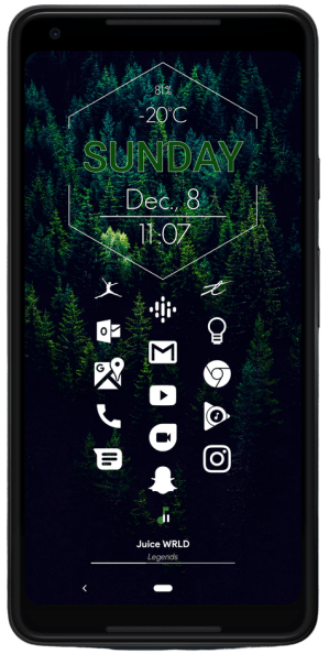 Clean Homepage nova setup 2