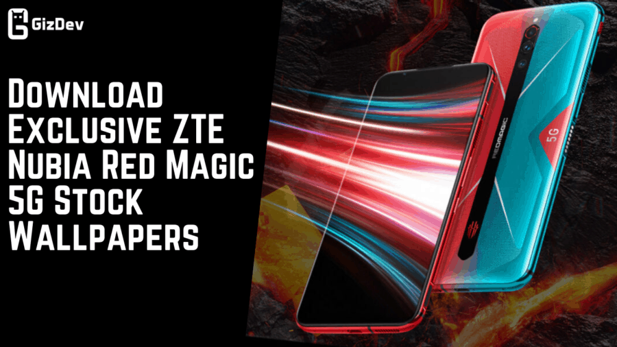 Download Exclusive ZTE Nubia Red Magic 5G Stock Wallpapers