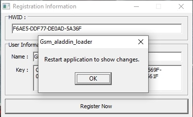 GSM Aladdin installation 4