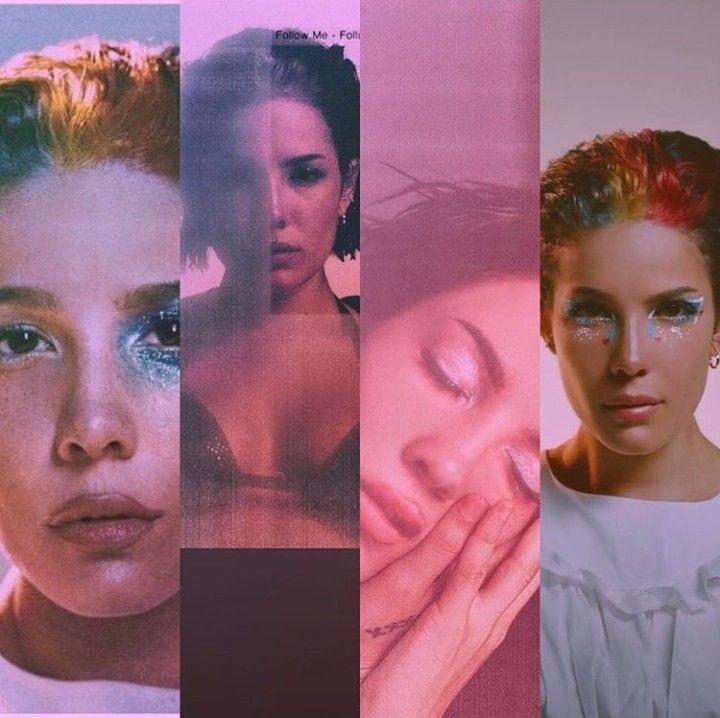 Halsey manic Album Screens