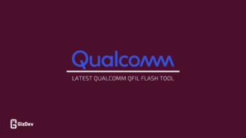 Latest QFil Tool Qualcomm Flash Image loader