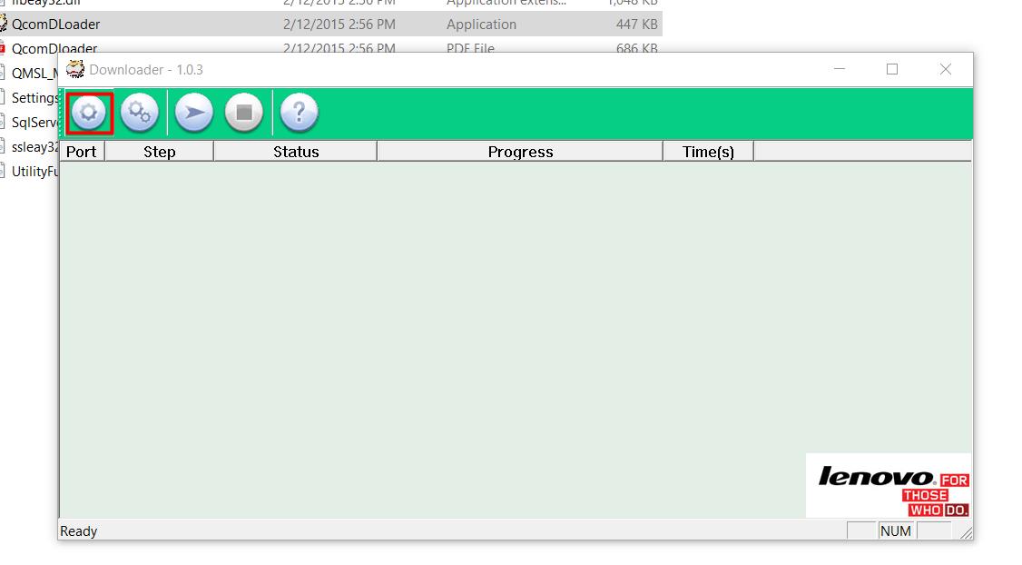 Lenovo Downloader load